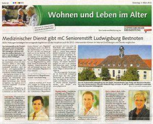 Ludwigsburger Kreiszeitung vom 3. März 2012