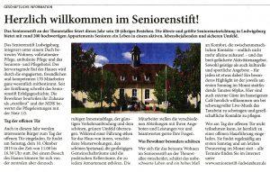 Ludwigsburger Kreiszeitung vom 8. Oktober 2015