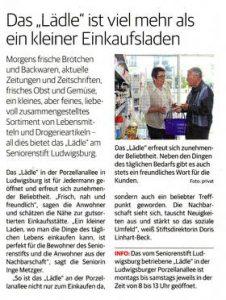 Ludwigsburger Kreiszeitung vom 21. Juni 2014