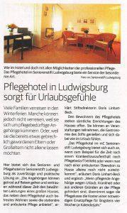 Ludwigsburger Kreiszeitung vom 2. November 2013